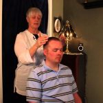 Demo: How to give a Chair Reiki Session